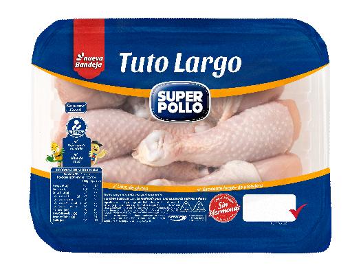 tuto largo en trozados marinados super pollo