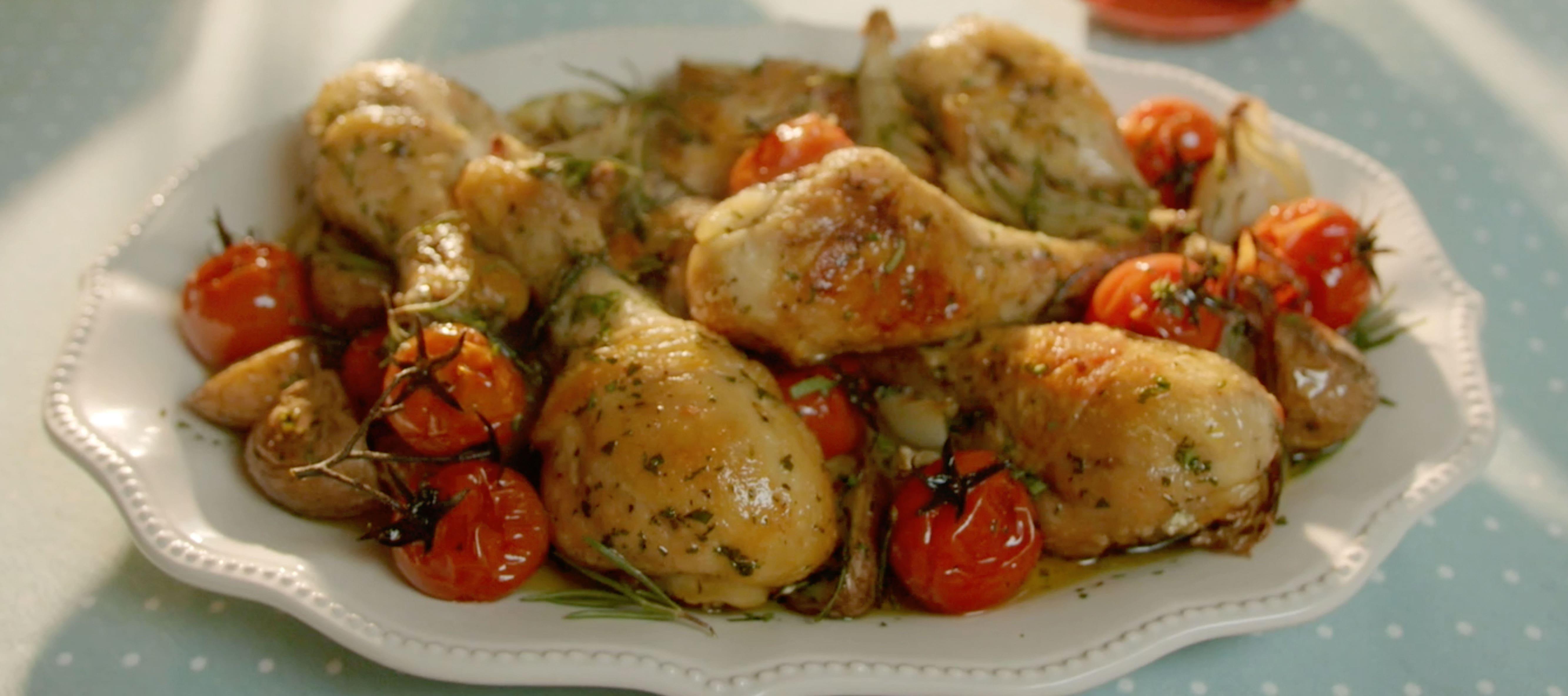 Tutitos de pollo con sabor barbacoa
